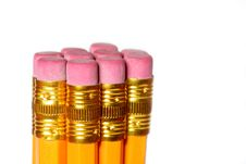 Free Bunch Of Erasers Royalty Free Stock Images - 4597159