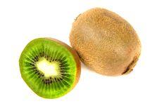 Free Kiwi Isolated Royalty Free Stock Photos - 4597348