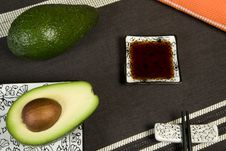 Free Sushi Set Background Stock Image - 4597411
