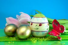 Free Colorful Eggs Royalty Free Stock Photo - 4598225