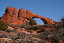 Free Skyline Arch Stock Photo - 4598870