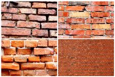 Background - Bricks Wall Stock Photo