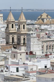 Free Church In Cadiz Royalty Free Stock Photography - 4599137