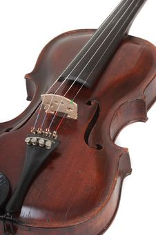 Free Violin Isolated Royalty Free Stock Images - 4599569