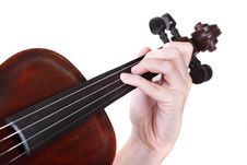 Free Playing Violin Royalty Free Stock Images - 4599589