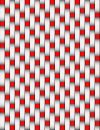 Free Red And White Basket Weave Stock Image - 469211