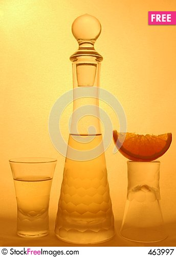 Free Shot Glasses Royalty Free Stock Photography - 463997