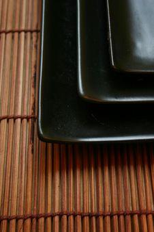 Free Asian Dining Set - Sushi Platters Stock Photography - 463022