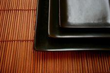 Free Asian Dining Set - Sushi Platters Stock Photos - 463023