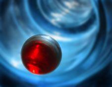 Free Red Sphere Royalty Free Stock Photography - 463527