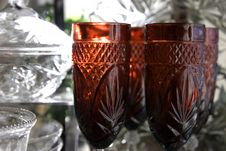 Free Festive Glassware II Royalty Free Stock Photography - 463667