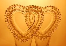 Free Two Hearts Royalty Free Stock Image - 464016