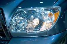 Free Headlight Stock Image - 465081
