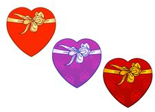 Free Vector - 3 Types Of Heart Shape Present Royalty Free Stock Photo - 465365