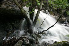 Free Rushing Creek Stock Image - 467711
