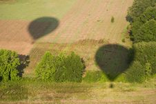 Free Balloon Shadows Stock Photography - 468852