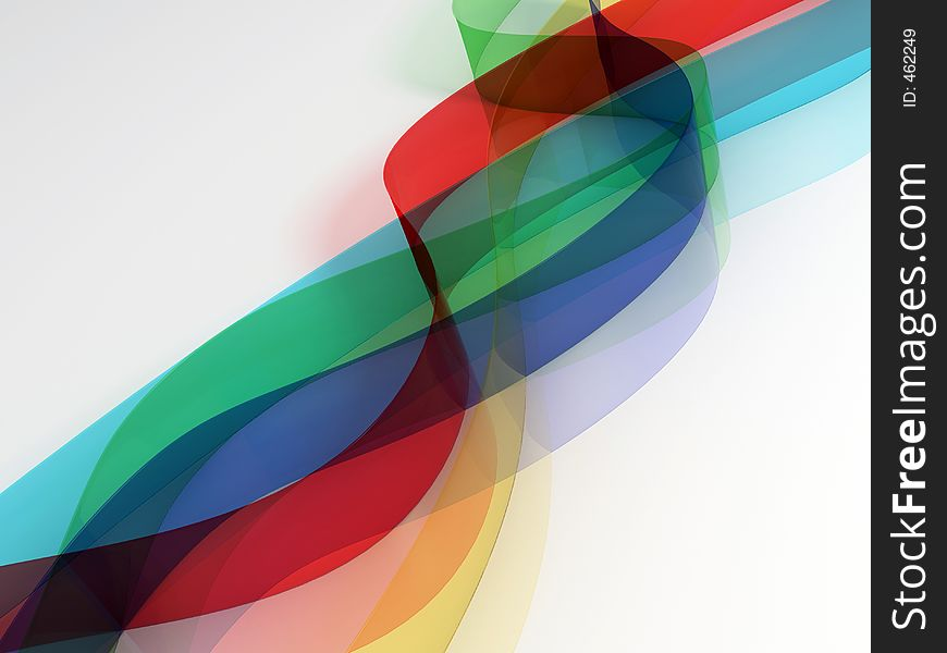 Coloured strips