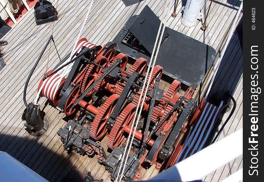 Deck Winch 1