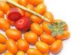 Free Strawberry And Kumquats Stock Photography - 4600482