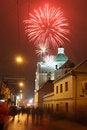 Free Celebratory Fireworks Royalty Free Stock Photography - 4600487