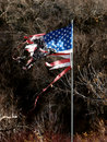 Free Tattered Flag Royalty Free Stock Photo - 4603755