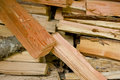 Free Fire Wood Pile Stock Photography - 4604192
