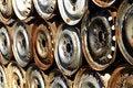 Free Rusty Car Rims Stock Image - 4608811