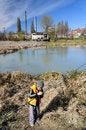 Free Little Boy Fishing Stock Image - 4608831