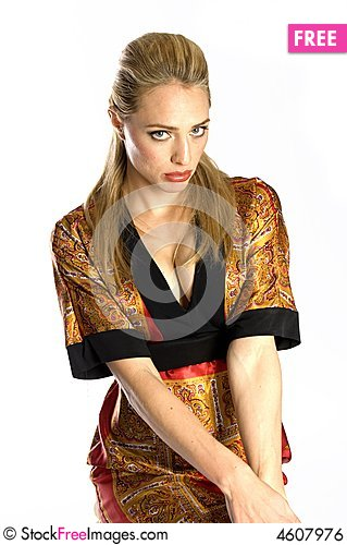 Free Shy Model Royalty Free Stock Image - 4607976