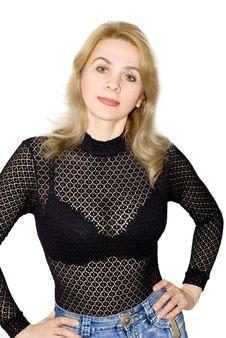 The Beautiful Woman Stock Photo