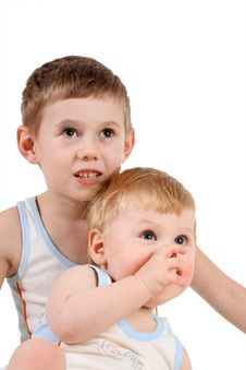 Free Two Children Stock Images - 4600034