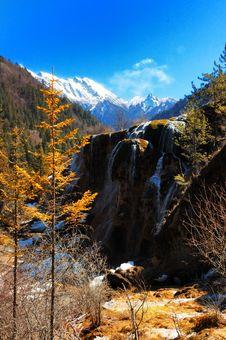 Free Chinese Jiuzhaigou Scenery Royalty Free Stock Images - 4600039