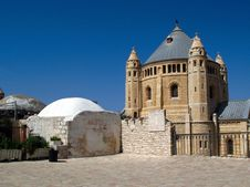 Free Church Of Dormition, Jerusalem Royalty Free Stock Images - 4600829