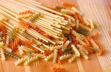 Free Raw Pasta Stock Photography - 4601082