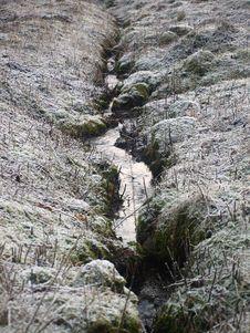 Free Winter Creek Stock Photo - 4601250