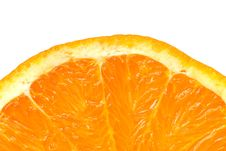 Free Sunlike Orange Slice Detail Royalty Free Stock Images - 4601539