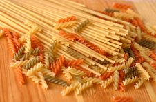 Free Raw Pasta Stock Photography - 4601742