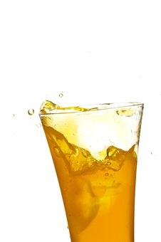 Free Glass With Juice Stock Images - 4601894
