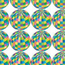 Colored Spheres Royalty Free Stock Images