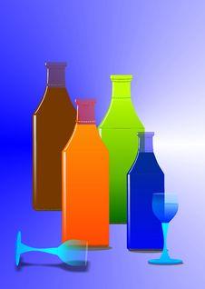 Bottled Stock Image