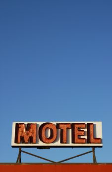 Free Motel Sign Stock Photo - 4602710