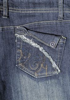 Free Jeans Pocket Royalty Free Stock Image - 4603186