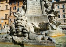 Free Roman Fountain Stock Photography - 4603702