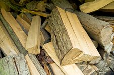 Free Mixed Fire Wood Pile Stock Photo - 4604130