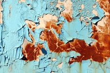 Free Peeling Grunge Paint Stock Photo - 4604290