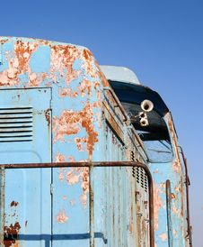 Free Old Diesel Locomotive Royalty Free Stock Photo - 4604295