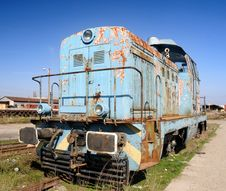 Free Old Diesel Locomotive Royalty Free Stock Photo - 4604315