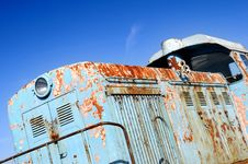 Free Old Diesel Locomotive Stock Photography - 4604322