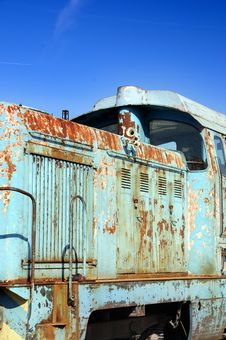 Free Old Diesel Locomotive Royalty Free Stock Image - 4604336