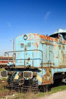 Free Old Diesel Locomotive Royalty Free Stock Photo - 4604345